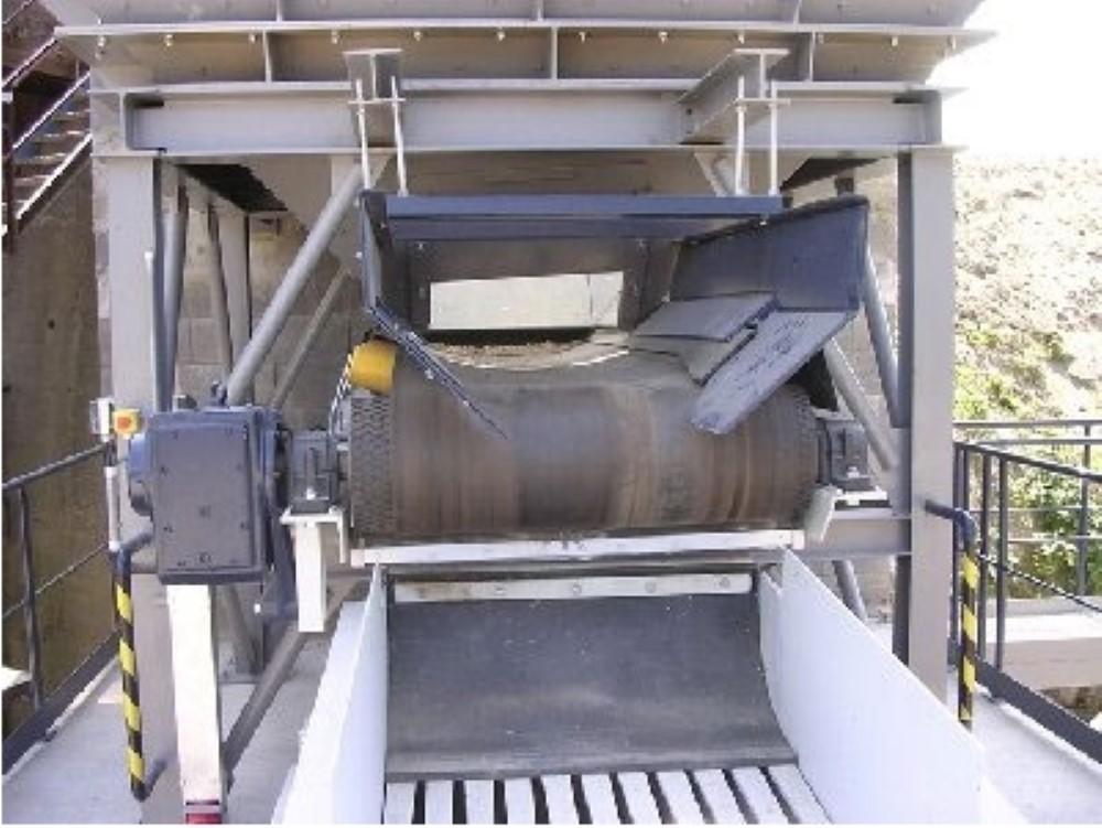 Приемные лотки ленточных конвейеров переработка зерна на элеваторе